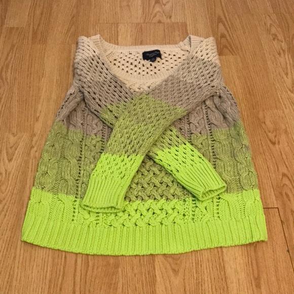American Eagle multi-coloured knit